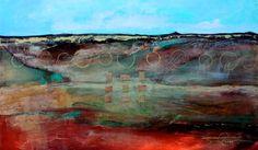 Highly textured piece. Lost Horizon