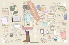 What's in Your Bag? - pixiv Spotlight