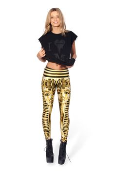 My most recent purchase!  Can't wait for the mail to come! King Tut Leggings › Black Milk Clothing