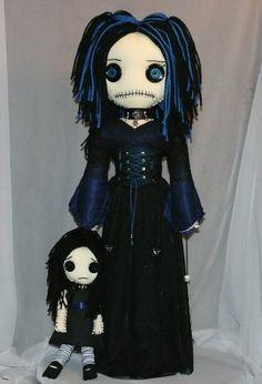 Creepy Rag Doll
