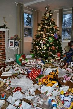 Interesting...How to make Christmas more special:   Each child gets 4 presents.    1.    Something they want  2.    Something they need  3.    Something to wear  4.    Something to read.....I think this would be great, and then take a christmas vaction instead of all of the things they really don't need!  Something to think about...
