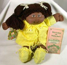 Cabbage Patch Kid - Danice Meg - 1984 - Mint Condition