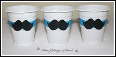 Cup Stickers #Blue #Moustache #Mo #18th #21st #30th #Mens #Boys #Night #Bachelor…