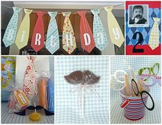 little man party - Maybe for Blake and Brynn's little brother! (1st Birthday)