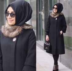 2017 Hijab Oberbekleidung Source by meraldincer Modest Outfits, Stylish Outfits, Fashion Outfits, Womens Fashion, Hijab Style, Hijab Chic, Casual Hijab Outfit, Hijab Dress, Moslem Fashion