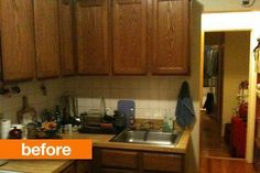 Before & After:  A Cramped Kitchen Gets a Big Change