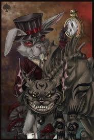 Rabbit Hole, Mcgee Alice, Cheshire Cat, Alice In Wonderland, Alice Mad, Cheshirecat, American Mcgee, Mad Returns, White Rabbit