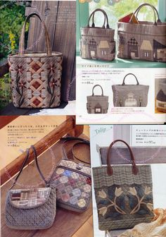 Popular Patchwork Bags Japanese Craft Book by PinkNelie on Etsy