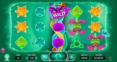 """""""Cyrus the Virus"""" von #YggdrasilGaming #Spielautomaten Hersteller! Spiele mit Slot Viren und zeige ihnen, wie gut du beim Automaten spielen bist! Finde Wild und Scatter Symbole und spiele für Spielgeld! Werde ein guter Glücksspieler!"""