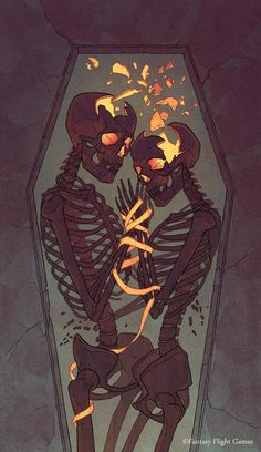VI Illustration i did for Fantasy Flight Games Art Director: Jeff Lee Johnson Art Sketches, Art Drawings, Art Du Croquis, Fantasy Kunst, Dark Fantasy Art, Skeleton Art, Skeleton Drawings, Arte Obscura, Skull Wallpaper