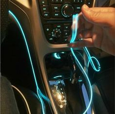 Online Shop car interior accessories atmosphere lamp colorful cold light line with USB DIY Decorative Dash board Console Door LED Light Custom Car Interior, Car Interior Decor, Car Interior Accessories, Cute Car Accessories, Interior Lighting, Interior Decorating, Interior Design, Pickup Accessories, Interior Paint