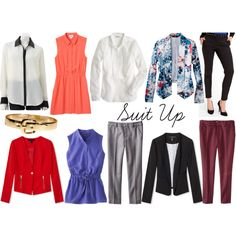 Fall 2013 Trends: Suit Up Tailored pieces are perfect for women who have a classic style, but even if you don't you can still wear this trend. It would be fun to match tailored clothing (like trousers, tuxedo shirts, button up blouses, blazers) with casual pieces, like a blazer with jeans or trousers with a sweatshirt. Also, try wearing professional clothing in bright colors and bold prints to make it feel more modern.