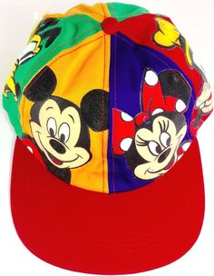 Disney Hat Mickey  amp  Minnie Mouse Snapback Goofys Hat Co NWT   GoofysHatCo Mickey Mouse 1369e0ed02c8