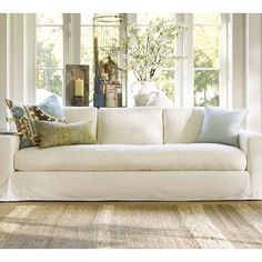 Solano Sofa It Had Me At O Pottery Barn Couch Home