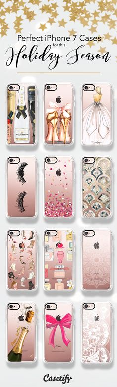 Check this Holiday Season ready iPhone 7 and iPhone 7 Plus case for this Christmas. Who is adding these to their Xmas wishlist? Shop them all here > https://www.casetify.com/artworks/gfmBUc6FNG
