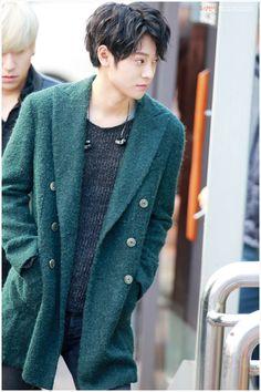 """ 160226 at KBS building for Music Bank recording jjajang Kpop Fashion, Asian Fashion, Perfect Man, A Good Man, Jung Joon Young, Korea Boy, Pop Rock, Korean Entertainment, Airport Style"