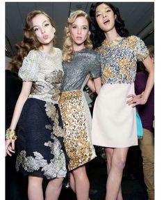 Love their Hair <3 #fashion #hair #London #ff2012