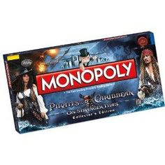 NEW Pirates of the Caribbean Monopoly