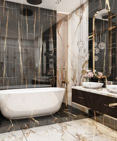 Home Stairs Design, Home Room Design, Home Interior Design, Modern Luxury Bathroom, Bathroom Design Luxury, Washroom Design, Toilet Design, Bathroom Design Inspiration, Bad Inspiration
