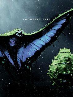 #SwoopingEvil #FantasticBeasts