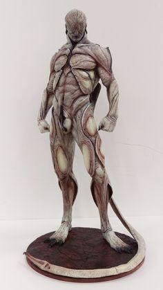 Monster Design, Monster Art, Dark Fantasy, Fantasy Art, Alien Creatures, Fantasy Creatures, Arte Horror, Horror Art, Creature Feature