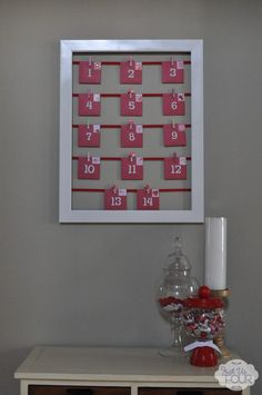 love this! and it seems like you could take 1 frame and use if for something like this for each holiday!