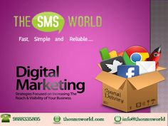 #Bulksms is the affordable way to promote your business and reach people faster. Get the service from www.thesmsworld.com