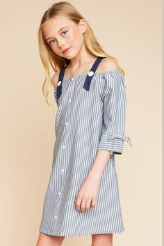 Abby Cold Shoulder Dress