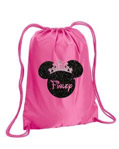 Minnie Mouse Bag,Silver Glitter,drawstring bag,Disney Bag,Disney Cheer Bag,Minnie Mouse,Disney Bag,drawstring Backpack,Minnie Backpack