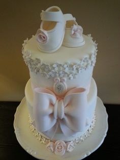 Darling Baby Shower Cake ~ all edible