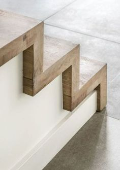 escaliers moderne trappen demunster waterven heule trap trappen houten t - The world's most private search engine Staircase Railings, Wood Stairs, House Stairs, Staircase Ideas, Concrete Stairs, Basement Stairs, Staircase With Landing, Stairways, Wood Stair Treads