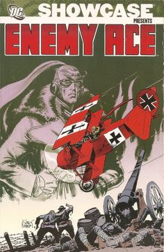DC Showcase Presents Enemy Ace, cover by Joe Kubert