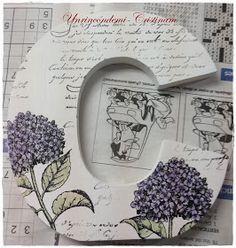 Un rincón de mi: Letra C decorada con sellos , tintas y polvos embossing....tutorial