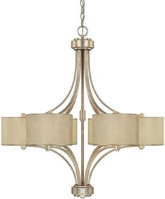 Formal Powder Room chandelier