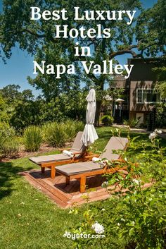 California's Napa Valley lures visitors with its hundreds of wineries, excellent cuisine, and picturesque rolling hills. Eating, drinking, and shopping are the main activities here, so come prepared to splurge on both calories and cash, especially if you spring on a stay at one of the area's top luxury hotels.