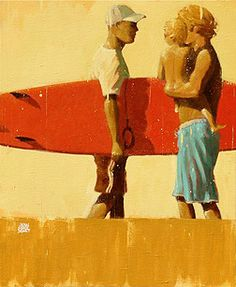 Jean Marie Drouet - Red Surf