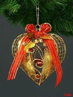 Animated Christmas Tree, Merry Christmas Gif, Christmas Bells, Christmas Is Coming, Christmas Greetings, Christmas And New Year, Christmas Time, Christmas Cards, Christmas Ornaments
