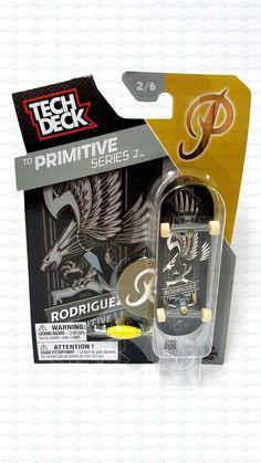 - Tech Deck Skateboard - TD Primitive Series 2 - Paul Rodriguez - 2/6 - Ages 6+