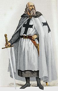Jacques de Molay - He was the 23rd and last Grand Master of the Knights Templar, leading the Order from 20 April 1292 until it was dissolved by order of Pope Clement V in 1307.