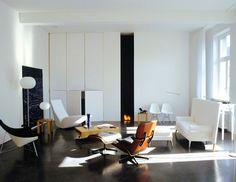 Lens°Ass architecten modern architecture design living room