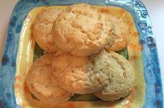 Paleo Biscuits - egg whites, blanched almond flour, coconut flour, baking powder, salt, coconut oil