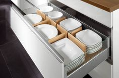 Kitchen Drawer Organizers | http://www.homprojects.com/kitchen-drawer-organizers.html