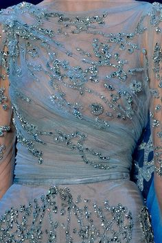 Elie Saab Fall 2011 Couture Detail - Elie Saab Haute Couture Collection - ELLE
