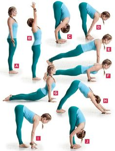 Fat Burning Yoga Sequence -- Did this today, along with bunch of other asanas during my traditional yoga blend class at #YogaFlirt
