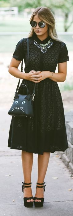 Kitty Cat Bag Outfit Idea by Cara Loren THIS OUTFIT RESEMBLES MY SOUL