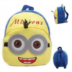 c72be91890d Cartoon Kids Plush Backpacks Mini schoolbags Toddler Bag, Toddler Toys, Girl  Toddler, Child