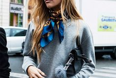 THE KNOTTED HANDKERCHIEF #fallstyle