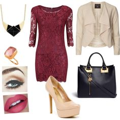A fashion look from July 2015 featuring v-neck dresses, platform pumps and handbag purse. Browse and shop related looks. Night Out, Yves Saint Laurent, Polyvore, Stuff To Buy, Shopping, Collection, Clothing, Design, Women