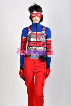 Henry Danger -- Kid Danger Cosplay Costume Version 01