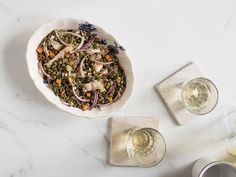 Chef Daniel Boulud's take on a classic Lyonnaise pairing of pork and lentils.